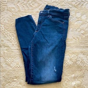 Gap high waisted jeans size 27